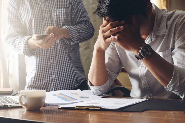 Burnout Syndrom ausgebrannt